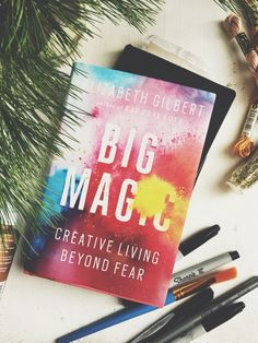 Post image for Book Club: Big Magic by Elizabeth Gilbert, Persistence Motivational Books, Inspirational Books, Big Magic Elizabeth Gilbert, Free People Blog, Nonfiction Books, Just Do It, Book Quotes, Book Worms, Reading