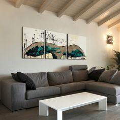 Artefx Decor Whale Tail Triptych by TJ Walton 3 Piece Print of Painting on Canvas Set & Reviews | Wayfair