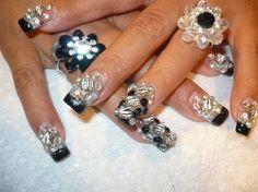 bling bling  by lugosnails - Nail Art Gallery nailartgallery.nailsmag.com by Nails Magazine www.nailsmag.com #nailart