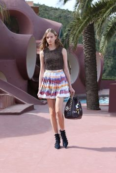 Christian Dior Resort 2016 collection skirt