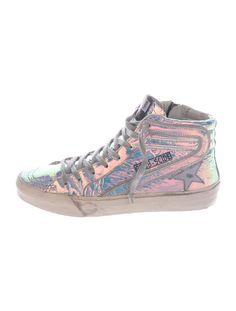 60c6ad32917 Golden Goose Slide High-Top Sneakers - Shoes - WG527784