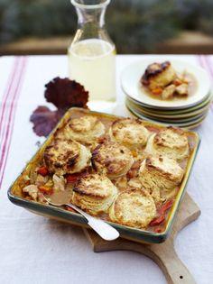 Chicken & herb biscuits | Jamie Oliver