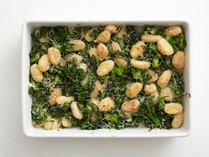 Baked Gnocchi with Greens