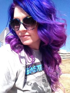 Bluish-purplish ombre :)
