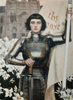 "harinef: "" 0-yen: "" advotiya-raskolnikova: "" "" Albert Lynch (1851 - 1912), Jeanne d'Arc "" "" the original alt girl "" me """