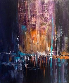 ARTFINDER: Acrylic Painting , Abstract , // art ... by Mo Tuncay - I used paletknife and small brushes during painting , used also little modeling pasta for this painting I hope you like it Beautiful comment from a anot...