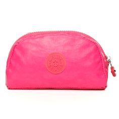 Trix Mini Pouch in Lacquer Super Pink #Kipling