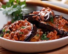 Aubergines épicées à la marocaine : http://www.fourchette-et-bikini.fr/recettes/recettes-minceur/aubergines-epicees-la-marocaine.html