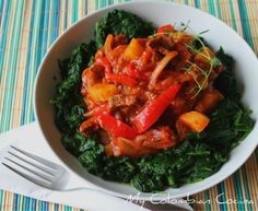Carne Caprichosa Colombian Cuisine, Colombian Recipes, Meat Chickens, Seaweed Salad, Thai Red Curry, Main Dishes, Cooking Recipes, Favorite Recipes, Meat Dish
