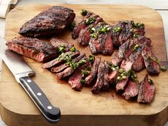 50 Grilled Steaks : Bloody Mary Flank Steak Food Network - FoodNetwork.com