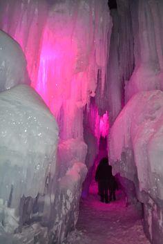 Mille Fiori Favoriti: Ice Castles in Breckenridge, CO