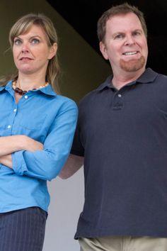 "L-R Lisel Gorell-Getz as ""Mary"" , Steve Gunderson as ""Ben"" - photo credit Daren Scott"
