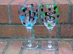 vinyl wine glasses