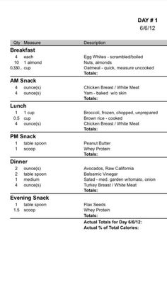 jenny craig week 1 menu pdf