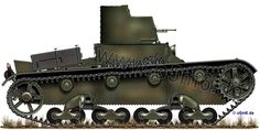 Engines of the Red Army in WW2 - T-26 Model 1931 Light Infantry Tank