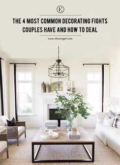 A Guide to Decorating as a Couple #theeverygirl   residential interior   modern home decor   decorating tips   interior design