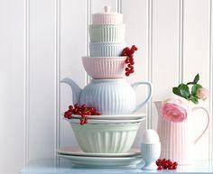 Wir lieben Pastelltöne! #greengate #alice #pastelltöne #geschirrliebe #pinkmilkshop