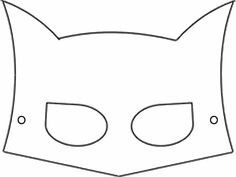 plantillas mascara batman