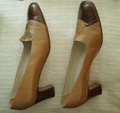 Renata shoes ladies leather court shoes vintage Italian | Etsy Leather Court Shoes, Leather High Heels, Vintage Italian, Vintage Ladies, Natural Sapphire, Vintage Shoes, Peep Toe, Lady, Fresh