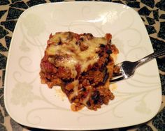 Mexican Eggplant Casserole because I have to admit that I am terrified of cooking eggplant myself...
