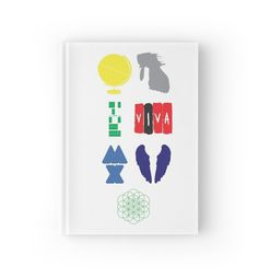 Coldplay album hardcover notebook.  http://www.redbubble.com/people/jeffgraz95/works/18039292-coldplay-album-logos?p=hardcover-journal&type=hardcover_journal&paper_type=ruled_line