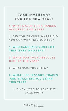 Take Inventory of 2018 for the New Year The best way to say goodbye to 2018 is to take an inventory of everything that's happened in your life in the past year. Here are some new year reflection questions we love! New Year Goals, New Year New You, Year Quotes, New Year Sayings, 2015 Quotes, Year End Reflection, Journal Questions, Life Questions, Reflection Questions