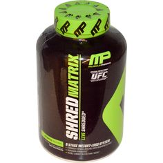 Muscle Pharm, Shred Matrix, 8-Stage Weight-Loss System, 120 Capsules - iHerb.com