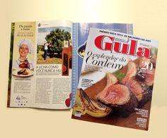 No lançamento da marca Domini'Ara,  a revista Gula preparou uma matéria falando sobre o Aceto de Lichia.