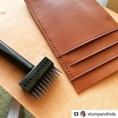. Repost from 🇺🇸. @stumpandhide #repost ・・・ Working on some details... - www.ksbladepunch.com
