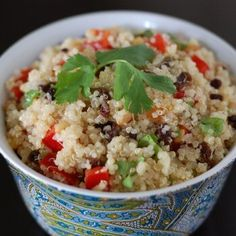 Cilantro Lime Quinoa from 100 Days of Real Food