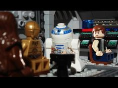 LEGO Let the Wookie Win #lego #starwars #animation #stopmotion #geek #funny
