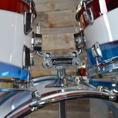 Ludwig Vistalite 12/13/16/22/5x14 5pc Drum Kit w/Cases Pattern D ... From: Chicago Music Exchange