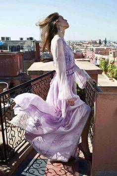 Sur les toits de la medina…    A la recherche du créateur…dsl