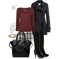 """""""winter stroll in the city"""" by tina-harris on Polyvore"""