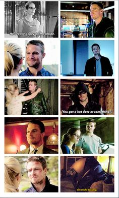 Arrow - Oliver and Felicity #Olicity See Felicity knows ;) :p