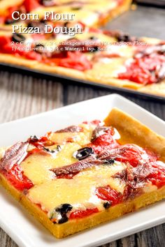 Corn Flour Pizza Dough This recipe is really worth the try, whether you're consciously going Corn Flour Recipes, Pizza Recipes, Gluten Free Recipes For Dinner, Gluten Free Pizza, Dinner Recipes, Dough Recipe, How To Make Bread, Pizza Dough, Diabetic Recipes