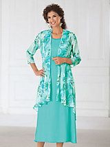 137953ec07a1a Vicki Wayne® Print Jacket Dress