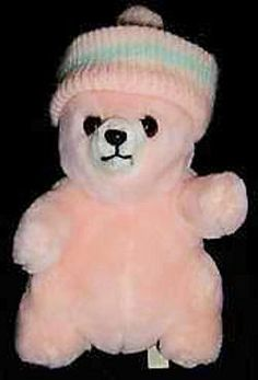 Searching – 70′s Prestige YELLOW POT BELLY BEAR Wearing SKI CAP
