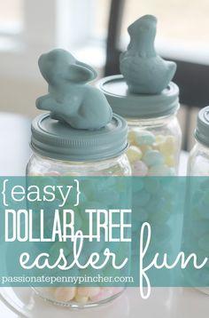 Dollar Tree Easter Craft