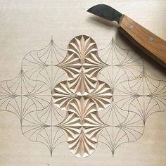WoodWorking - gundem ve haberler Wood Carving Designs, Wood Carving Patterns, Wood Carving Art, Wood Art, Awesome Woodworking Ideas, Woodworking Inspiration, Teds Woodworking, Woodworking Projects, Whittling Wood