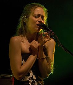 Fiona Apple is playing a church for a Pitchfork party...irony.