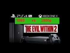 XBOX ONE X Offers 300% Resolution Boost Over PS4 PRO in Evil Within 2 - ...