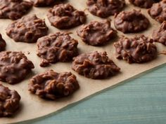 Peanut Butter-Chocolate No-Bake Cookies Recipe   Food Network Kitchen   Food Network