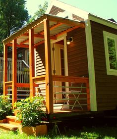 A 150 square feet tiny house designed and build by Vagavond.