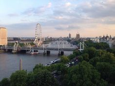 View from the 10th floor of the Penguin Building, London