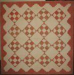 1845 Bear's Paw antique crib quilt