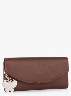 Buy Butterflies Dark Brown Wallet for Women Online India, Best Prices, Reviews | BU903BG41HBIINDFAS