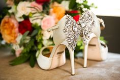 wedding shoes / by dina chmut photography / / The Nines Hotel, Portland OR