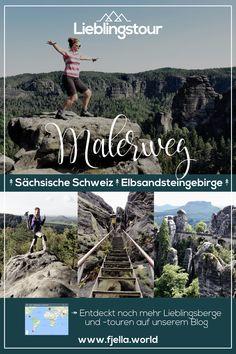 Der schönste Weg im Elbsandsteingebirge: Auf den Spuren von Caspar David Friedrich und anderen Malern auf dem Malerweg. Die Wanderung in der Sächsischen Schweiz ist abwechslungsreich und atemberaubend. Mehr auf unserem Blog! #wandern #trekking #mehrtagestour #malerweg #sächsischeschweiz #elbsandsteingebirge #sachsen #wanderung #wandertour #lieblingstour Wandern, Trekking, Lieblingswanderung, Wanderung Elbsandsteingebirge, Wanderung Sächsische Schweiz, Bastei, Festung Königstein