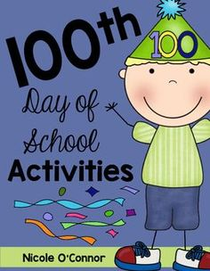 Celebrate the 100th Day of School in style, with these interactive activity pages!